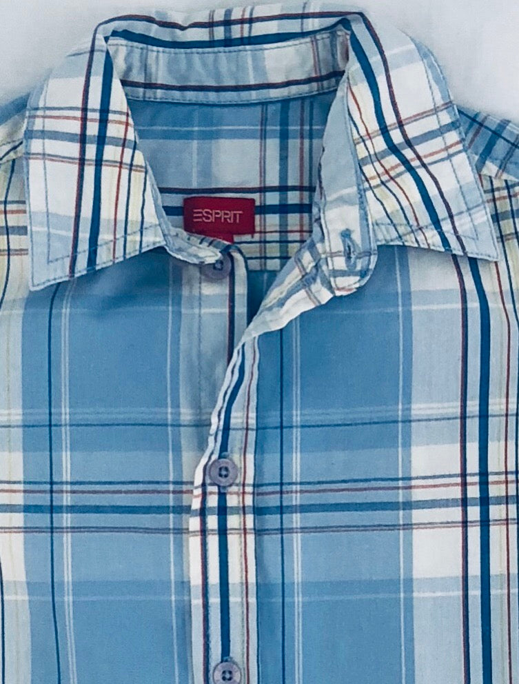 Esprit Boys Plaid Shirt