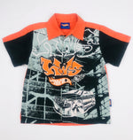 Hot Wheels Boys Orange Shirt