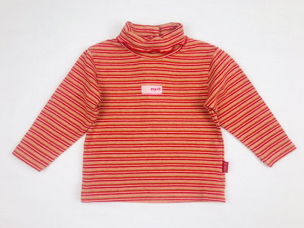 Esprit Baby Girls Stripe Turtleneck Shirt