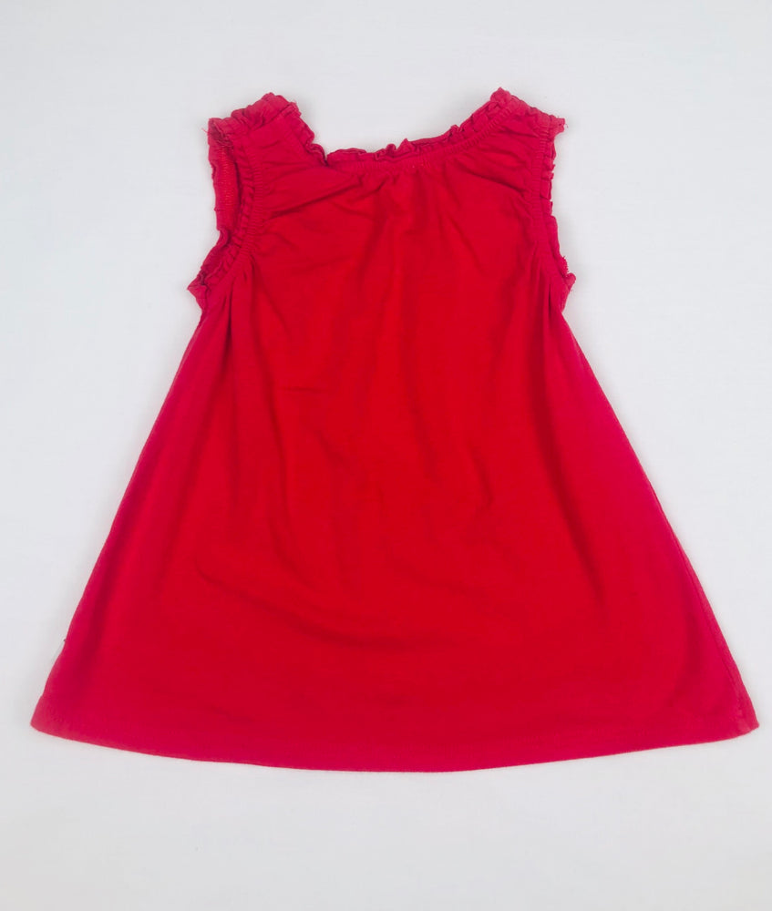 Milky Girls Red Summer Dress