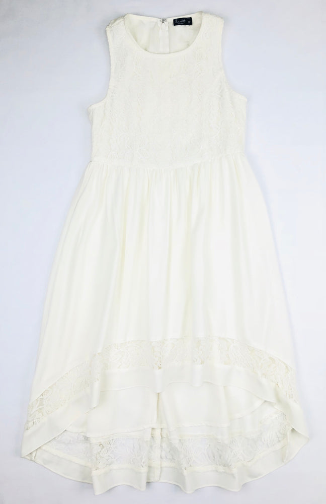Bardot Junior Girls Ivory Dress