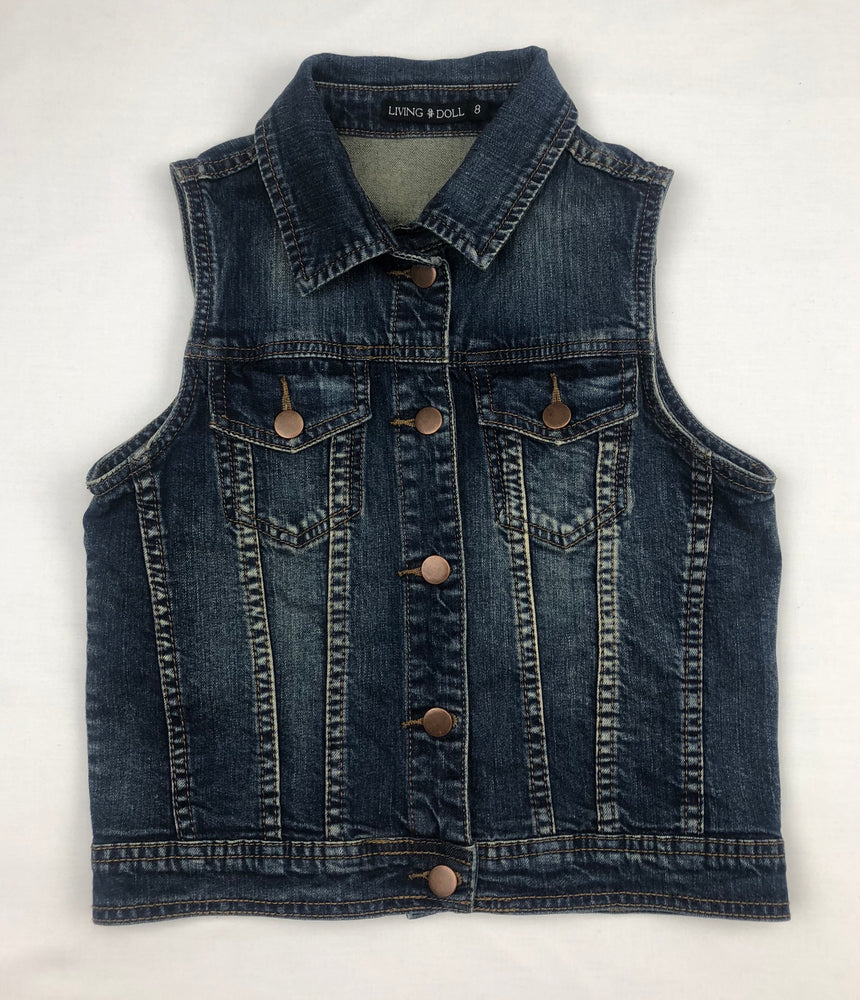 Living Doll Denim Vest