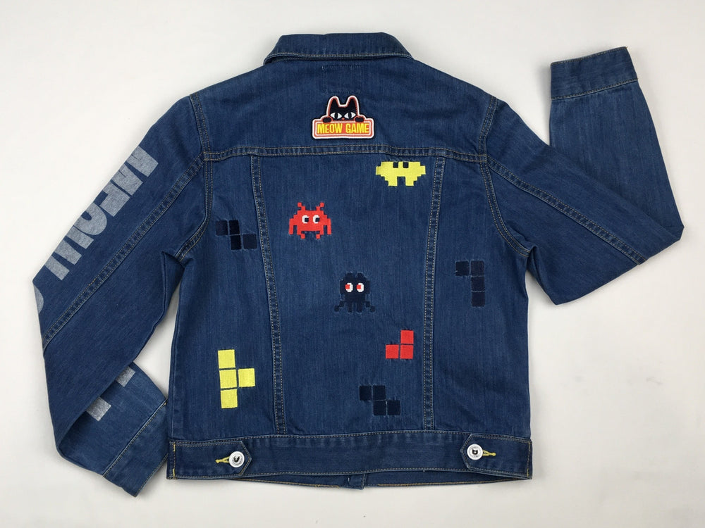 Toby Black Gamer Denim Jacket