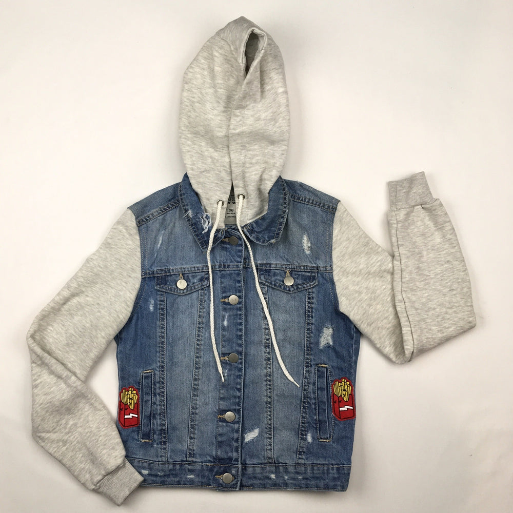 Tally Weijl Distressed Denim Jacket