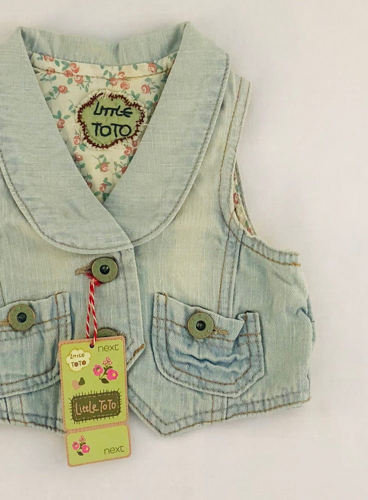 Next Little Toto Denim Vest