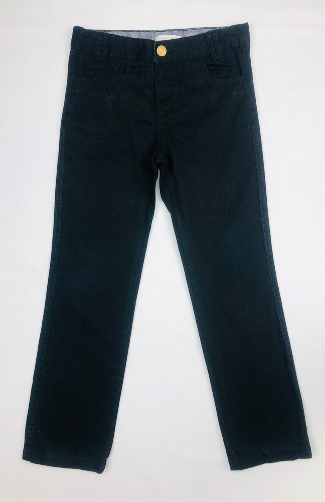 Pumpkin Patch Boys Black Chinos