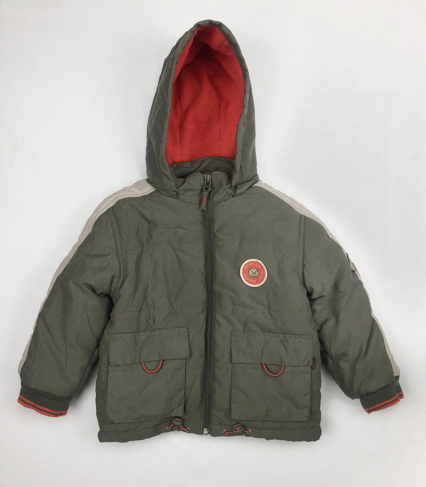 Pumpkin Patch Boys Olive Winter Jacket