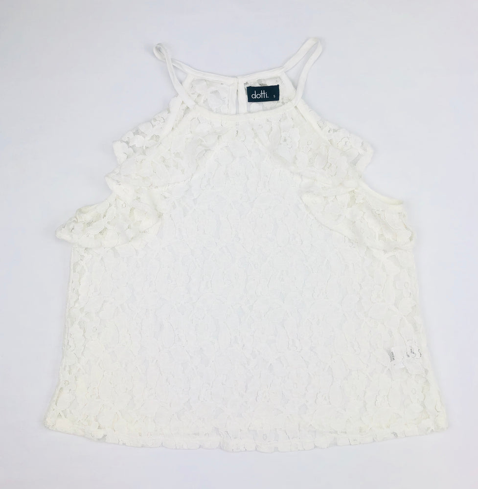 Dotti Halter Lacey Top