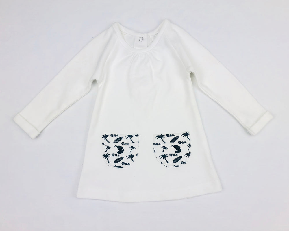 Little Bean Organic Long Sleeves Top