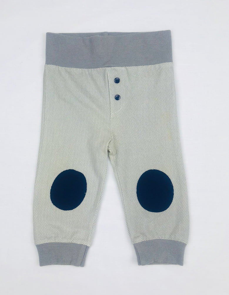 Plum Boys Grey Patterned Pants