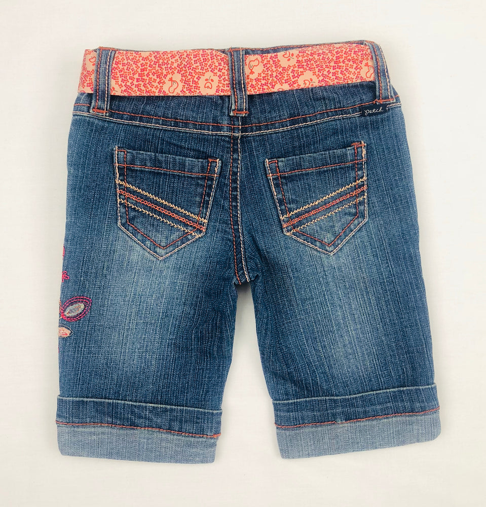 Pumpkin Patch ¾ Embroidered Pants w/ Belt