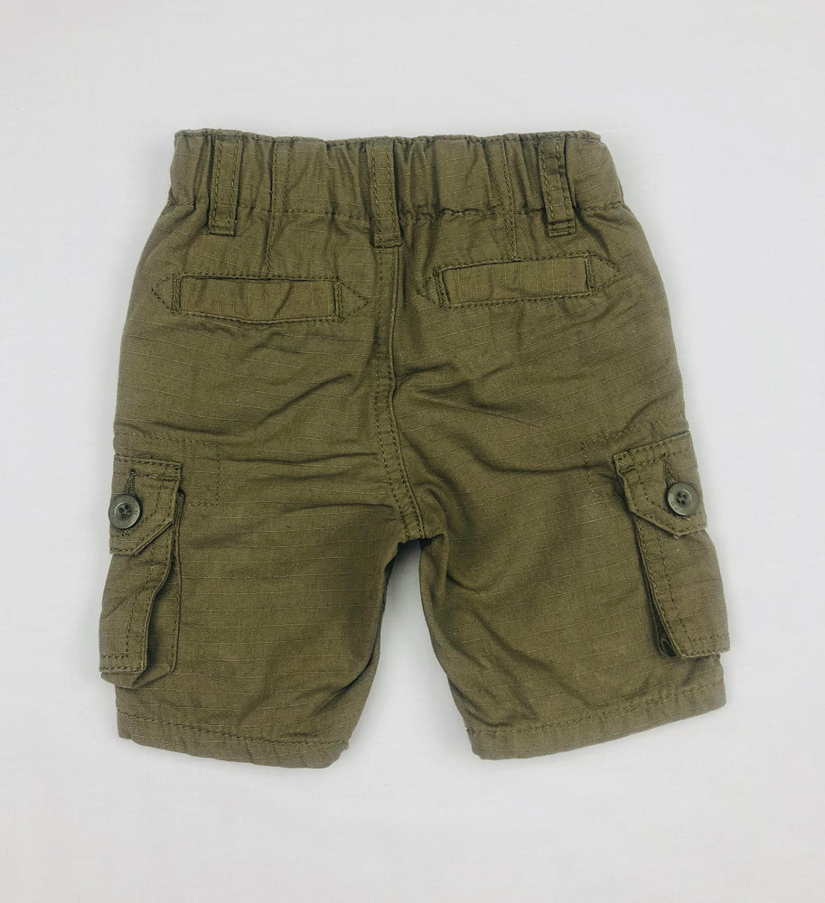 Pumpkin Patch Boys Olive Cargo Shorts