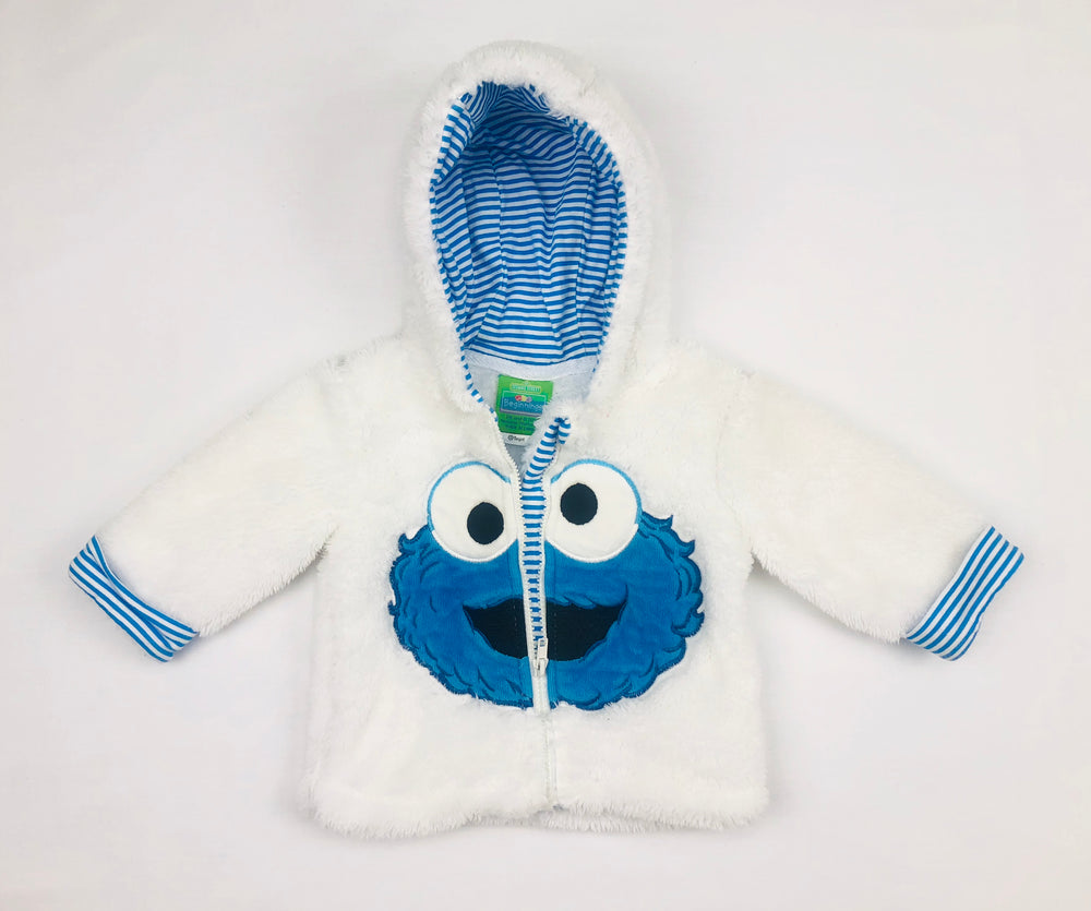 Sesame Street Beginnings Cookie Monster Jacket