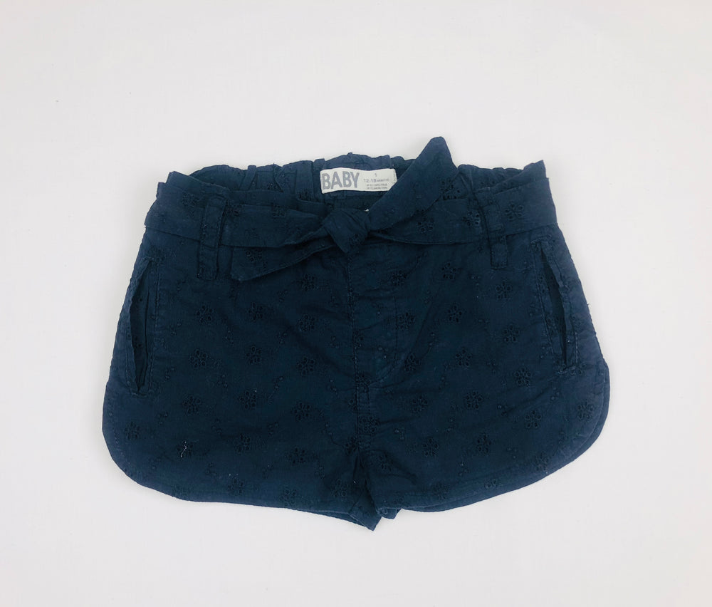 Cotton On Girls Embroidered Shorts