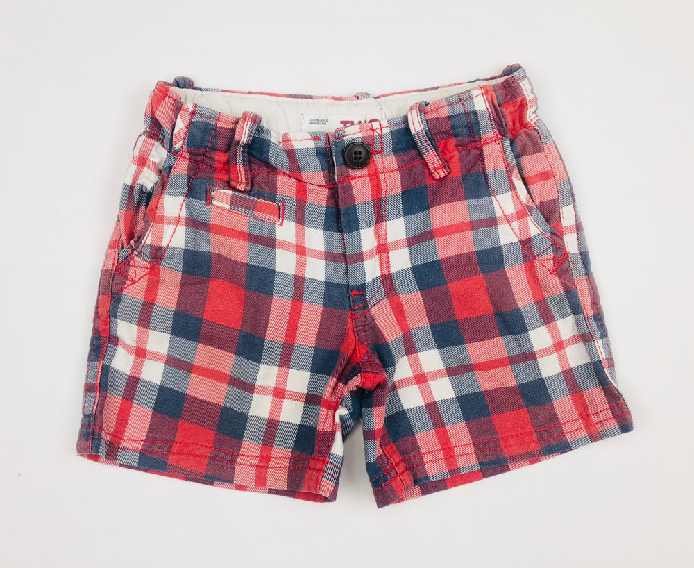 Cotton On Boys Plaid Shorts