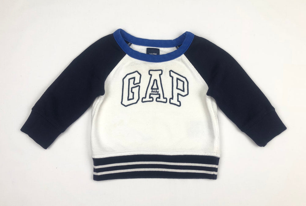 Baby Gap Boys Blue/White Jumper