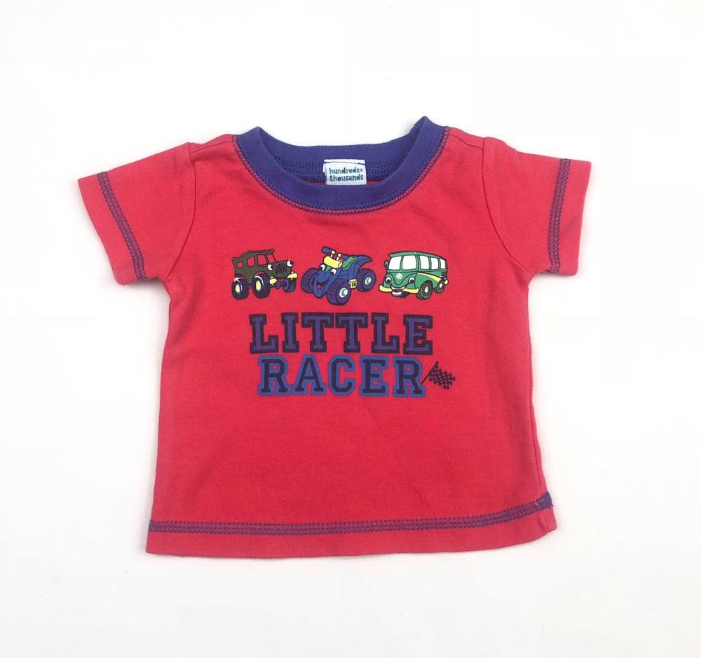 Hundreds + Thousands Little Racer Shirt