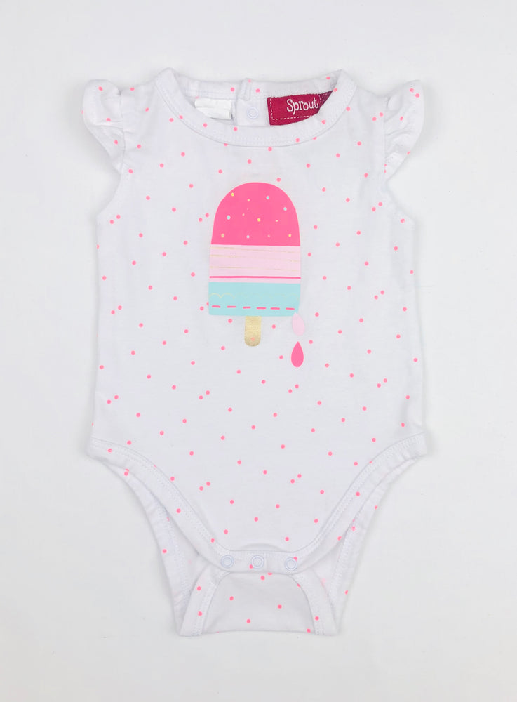 Sprout Popsicle Girls Bodysuit