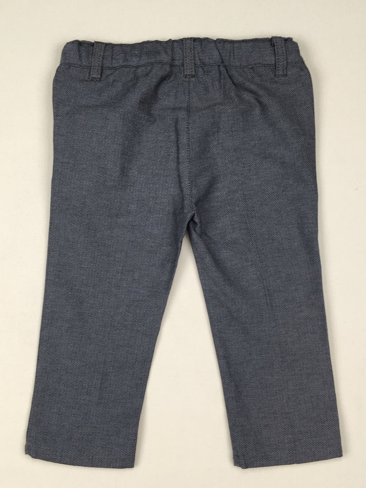 Peter Morrissey Formal Grey Pants