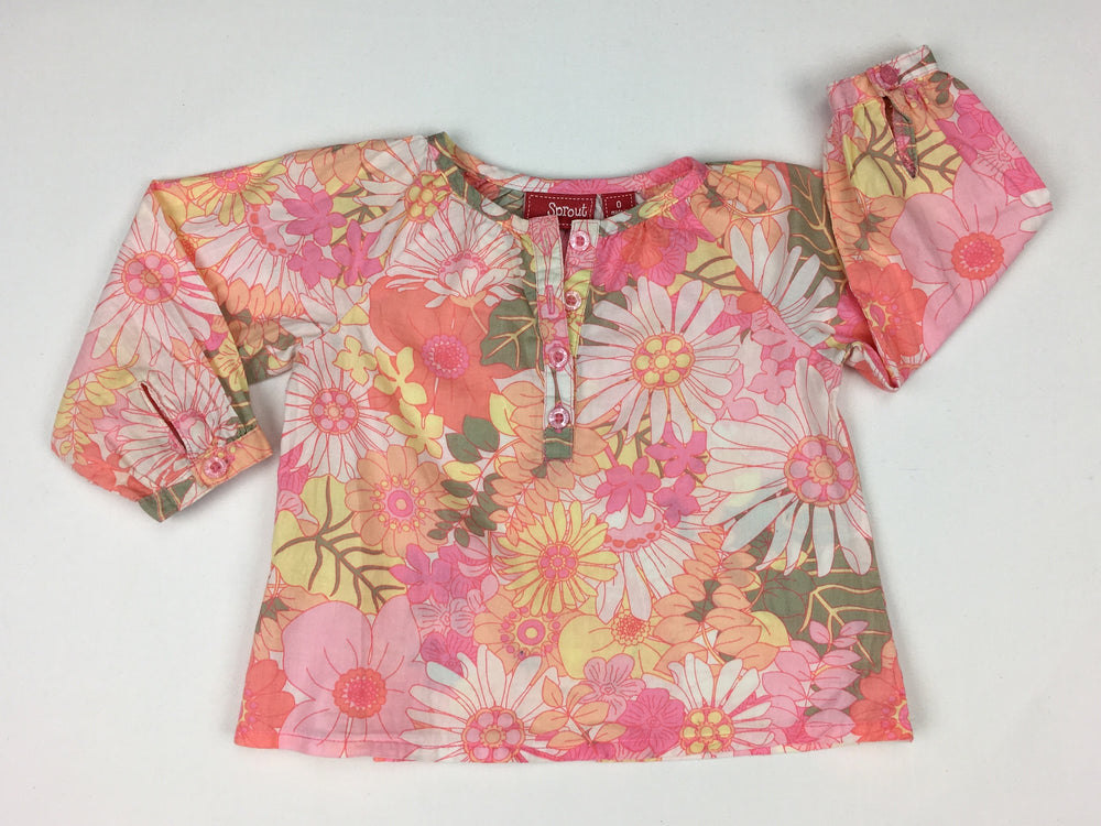Sprout Floral Spring Top