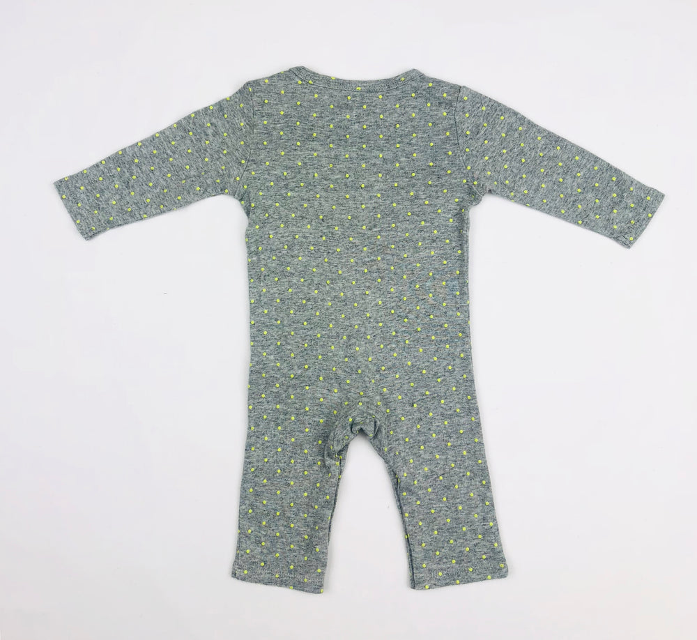 Seed Heritage Baby Girls Grey Jumpsuit