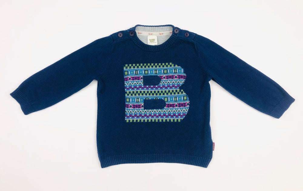 "Baker Baby by Ted Baker ""B"" Jumper"