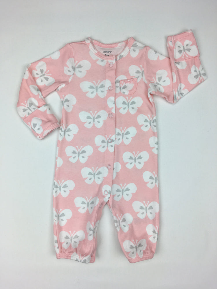 Carter's Girls Butterfly Jumpsuit