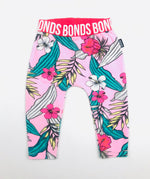 Bonds Girls Hibiscus W/ Leaves Stretchies Leggings