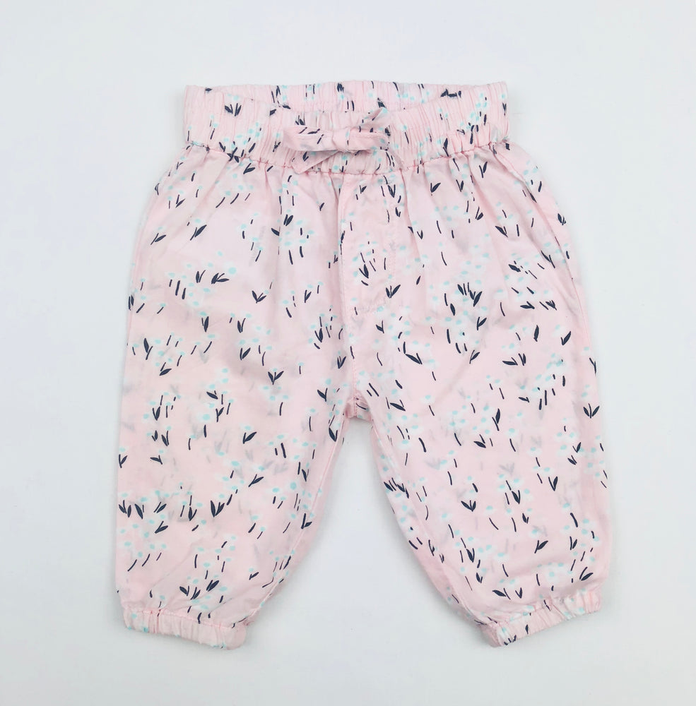 Country Road Girls Pink Floral Pants