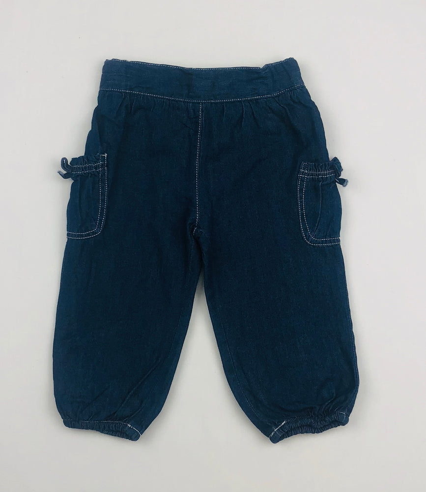 Bebe by Minihaha Girls Chambray Pants