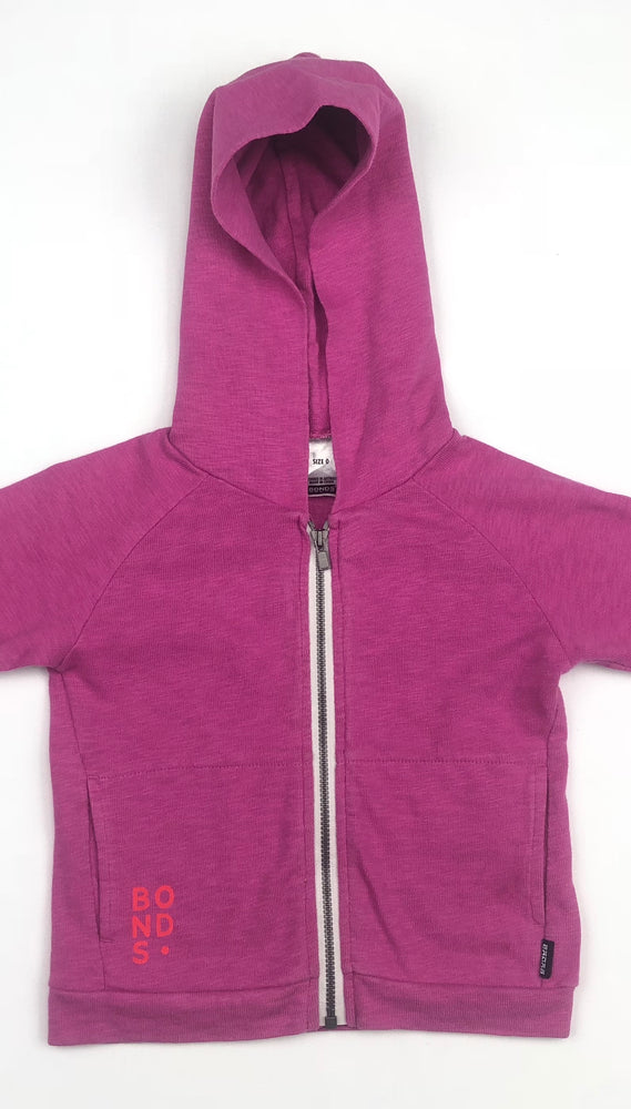 Bonds Girls Fuchsia Jacket w/ Hoodie