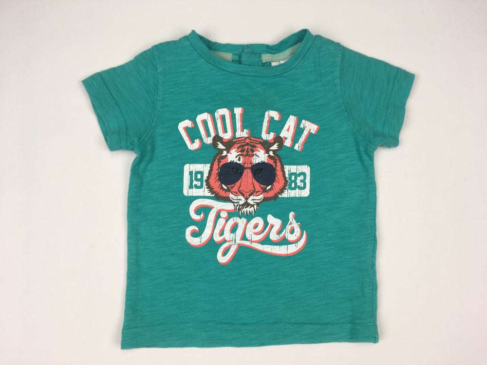 Charlie & Me Cool Cat Tigers Shirt