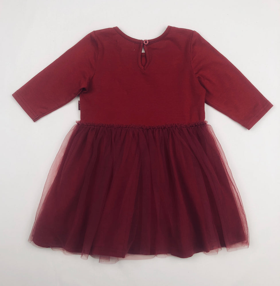 Pumpkin Patch Red Florettes Dress