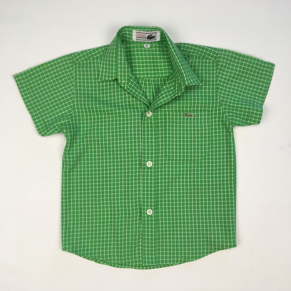 Lacoste Boys Green Polo Shirt
