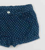 Ollie's Place Polka Dot Chambray Shorts