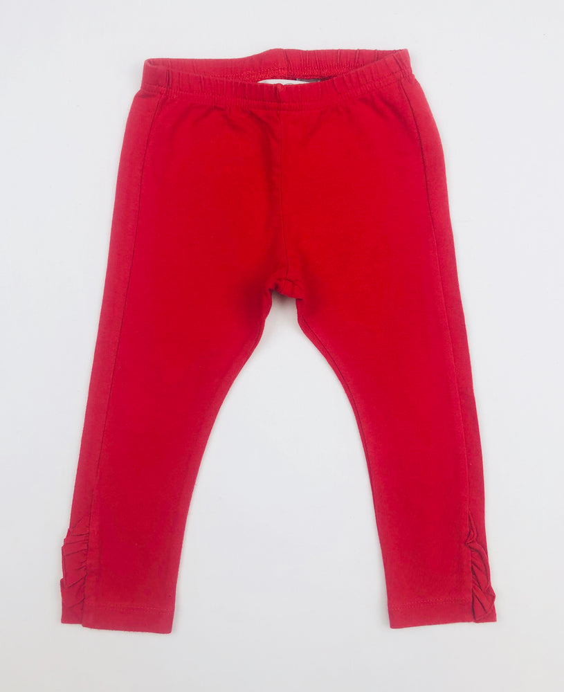 Bebe by Minihaha Girls Red Leggings