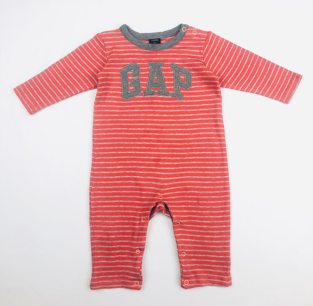 Baby Gap Grey/Orange Jumpsuit