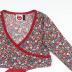 Oobi Girls Floral Wrap