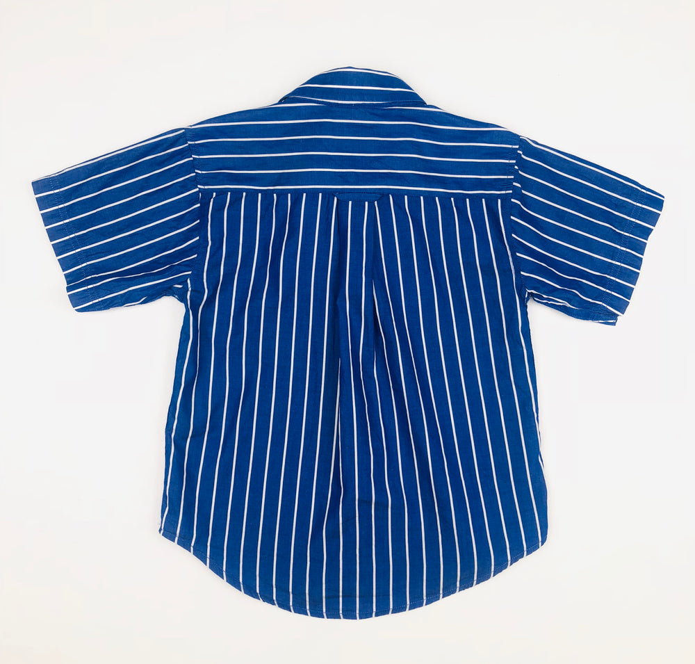 Thomas Cook Blue Stripe Polo Shirt