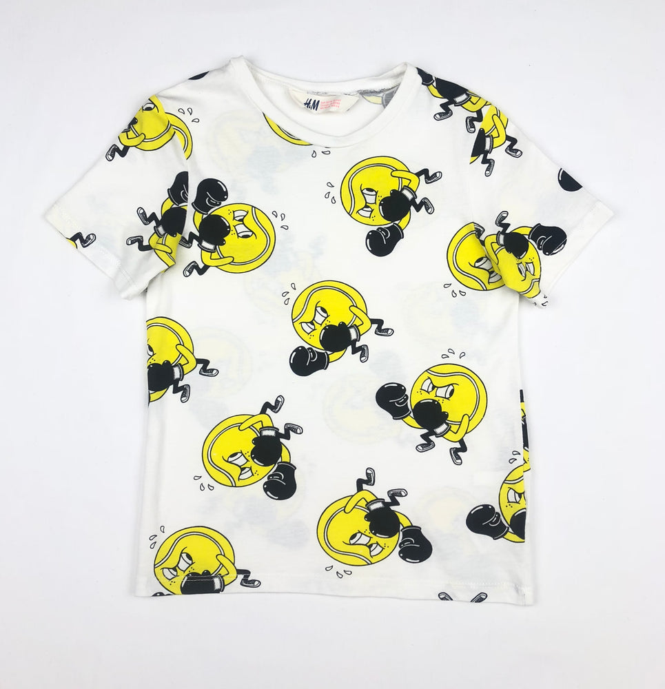 H&M Boxing Tennis Ball Shirt