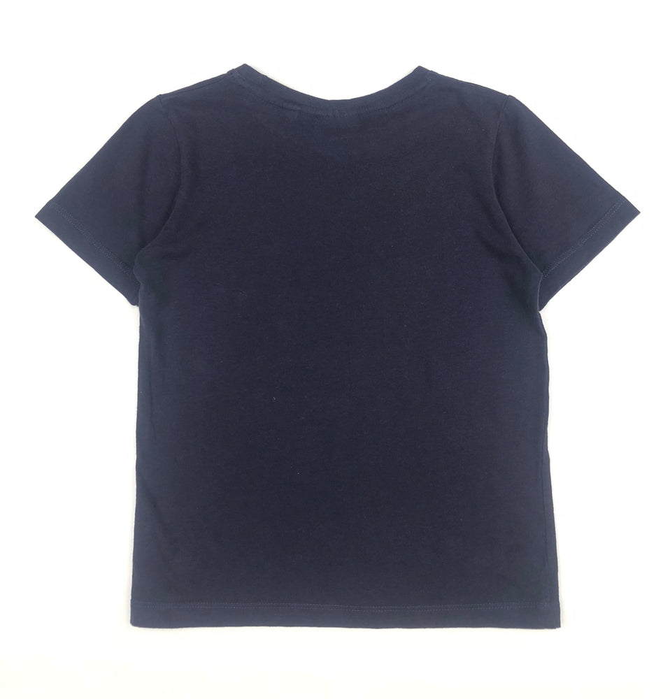 Mooks Boys Dark Blue Shirt
