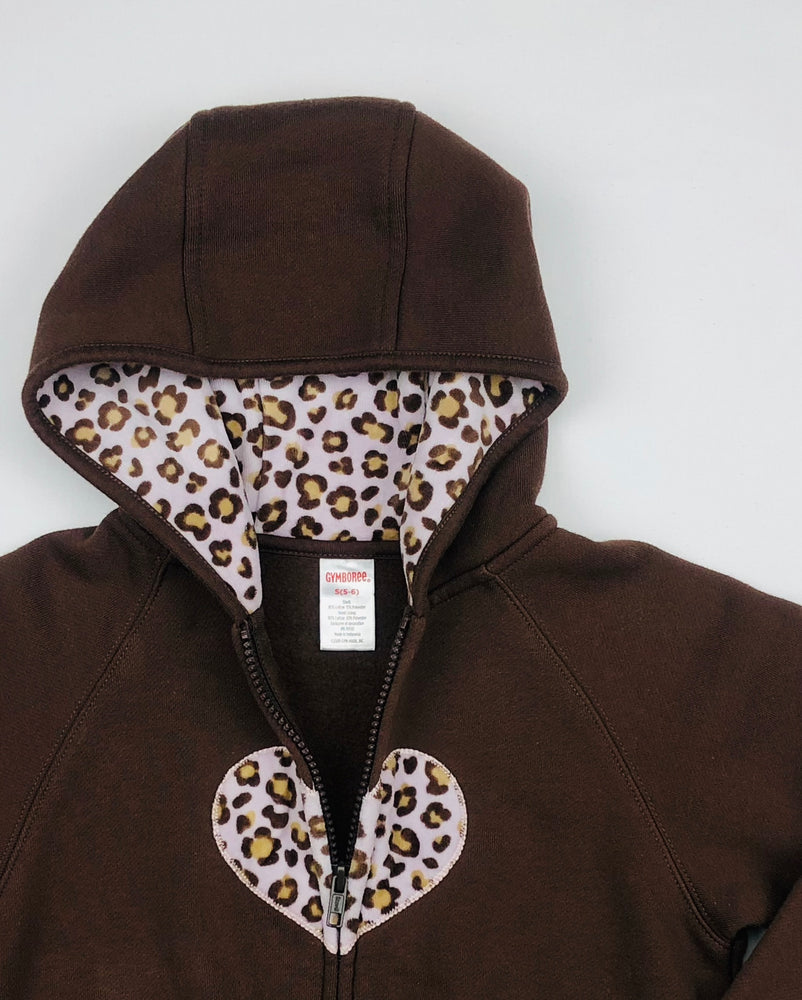 Gymboree Heart Leopard Jacket