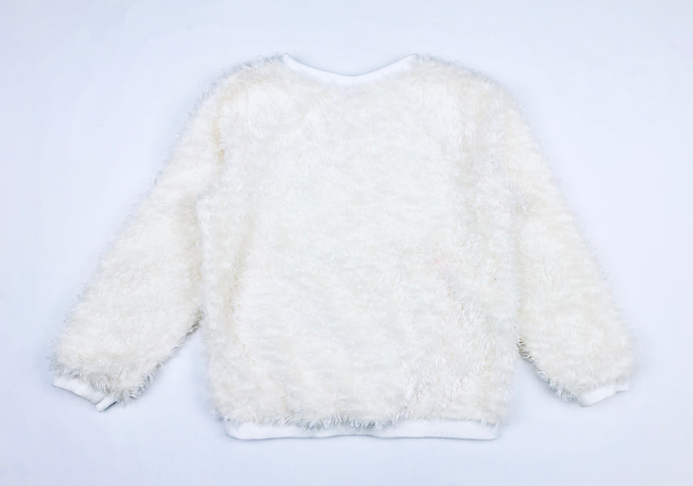 Jack and Milly Faux Fur Jumper
