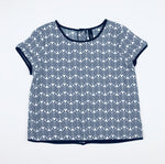 Peter Morrissey Girls Patterned Top