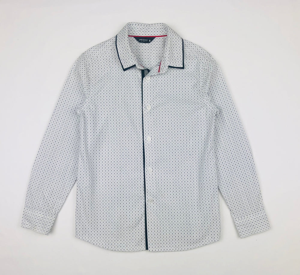 Peter Morrissey Boys Dotted Polo Shirt