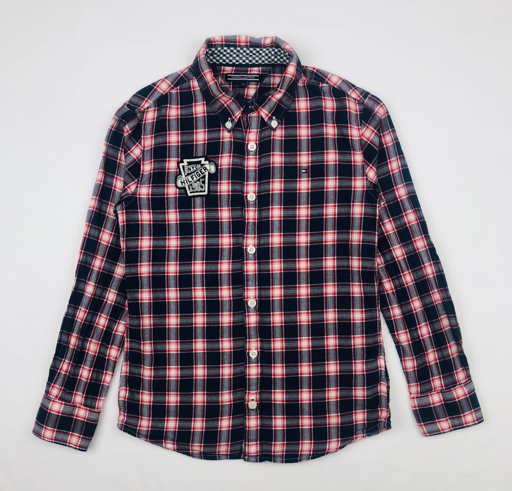 Tommy Hilfiger Plaid Polo Shirt