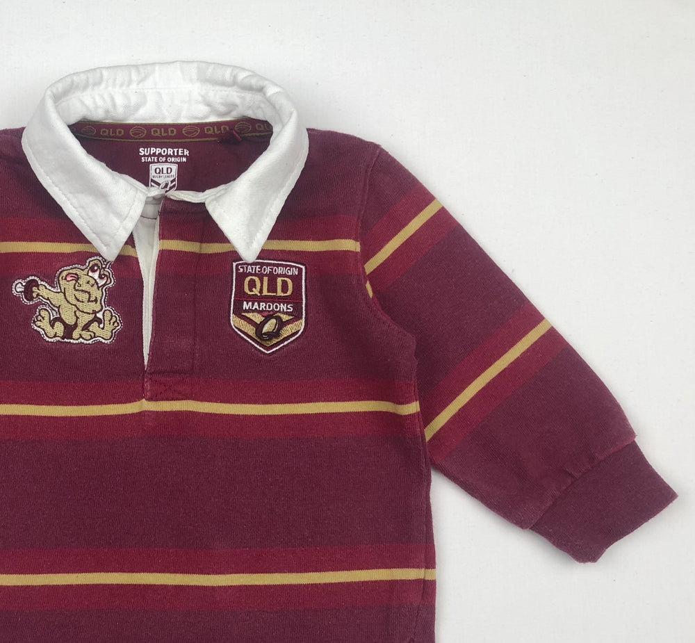 State of Origin QLD Maroons Baby Jumper