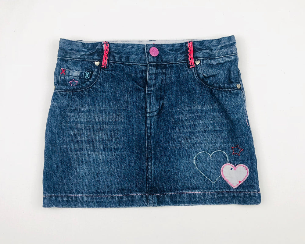 Milkshake Girls Denim Skirt