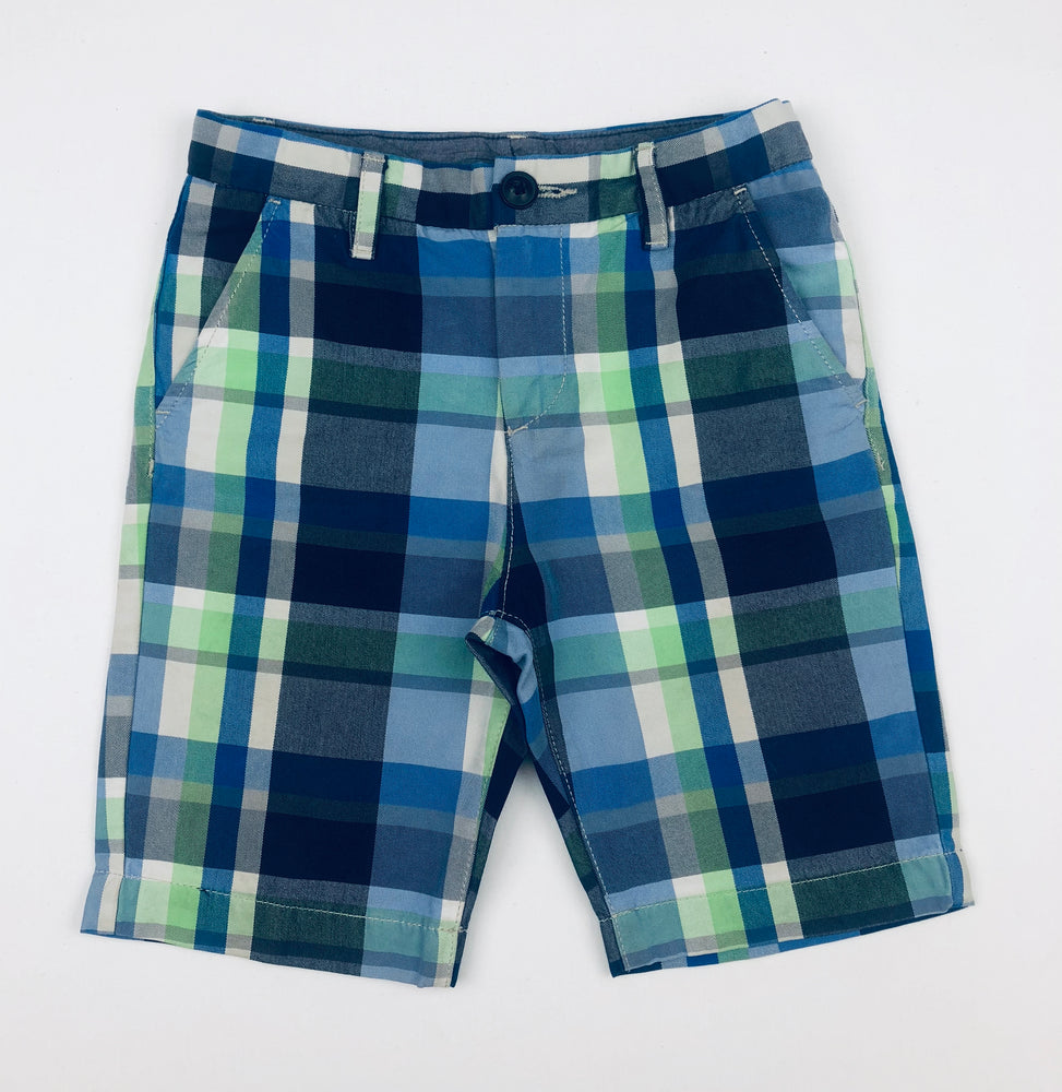 H&M Boys Plaid Shorts