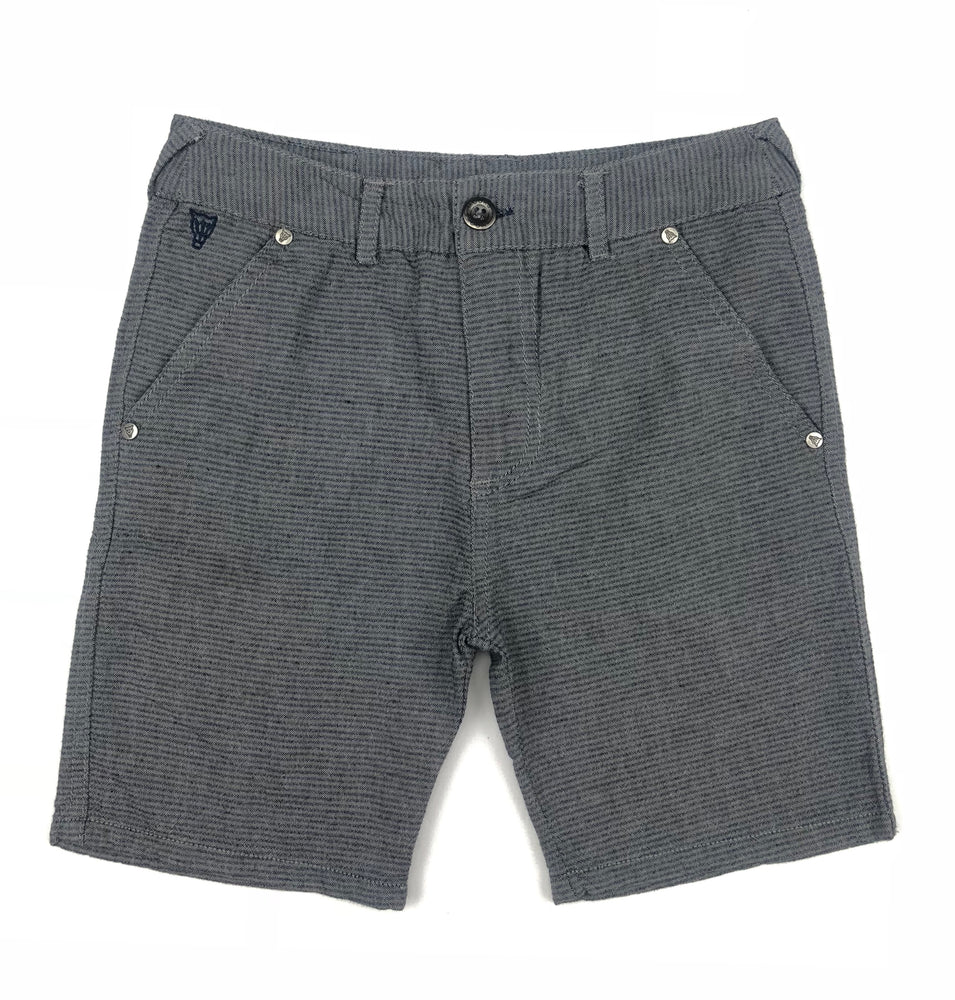 Mooks Stripe Grey Shorts